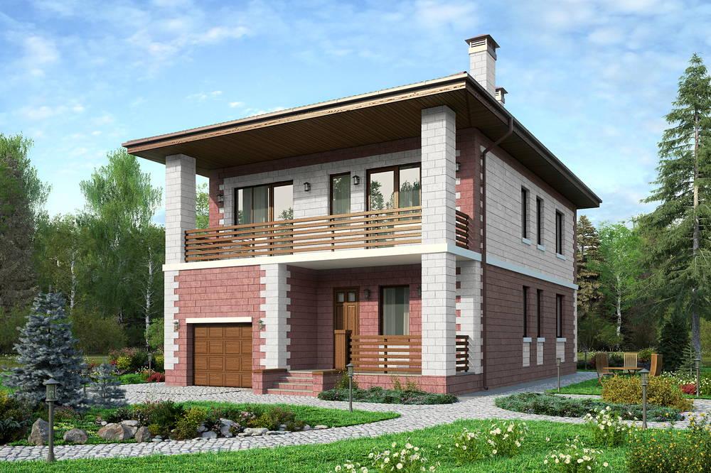 лучшие проекты фото домов двухэтажные из блоков отметить, что