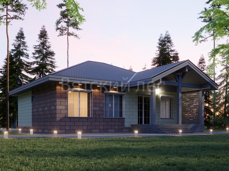 Дом из керамзитобетона под ключ породы бетон